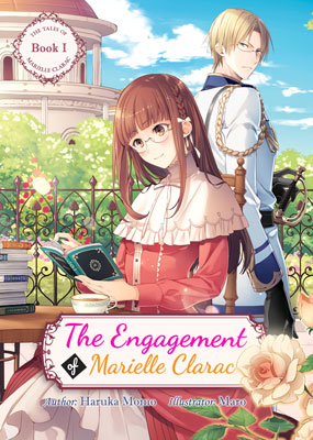 Cover for The Engagement of Marielle Clarac